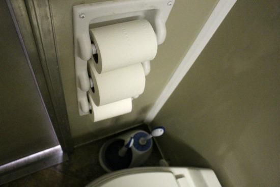 triple toilet paper holder