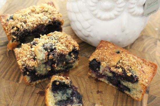 The Most AMAZING Blueberry Almond Coffee Cake