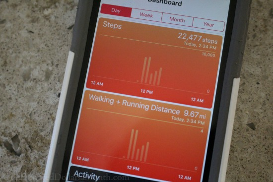 walking running pedometer app