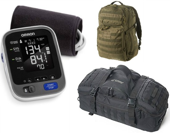 omron blood pressure kit