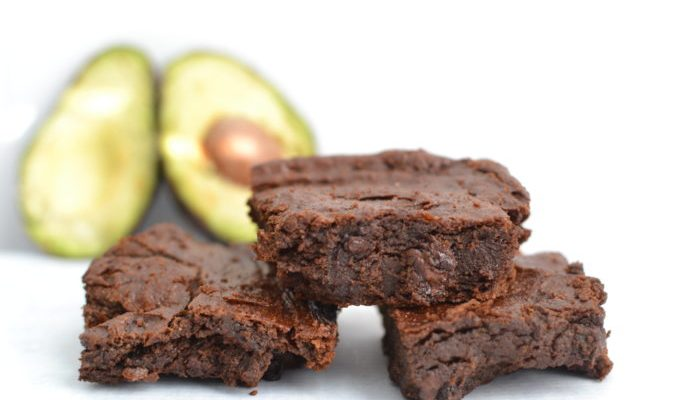 Deliciously Rich Avocado Brownies