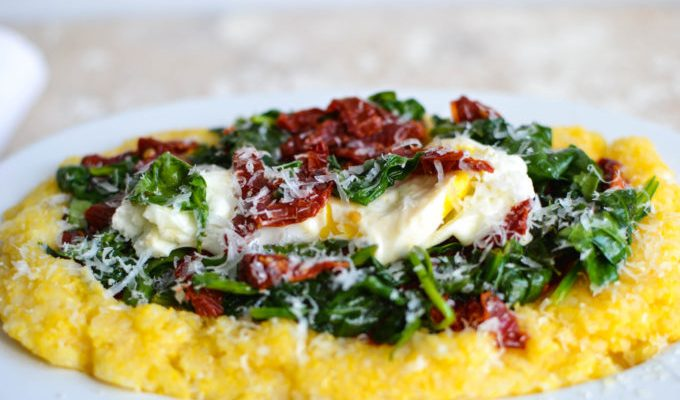 Breakfast Polenta: Simple, Sweet, Savory