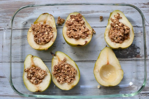 baked pears