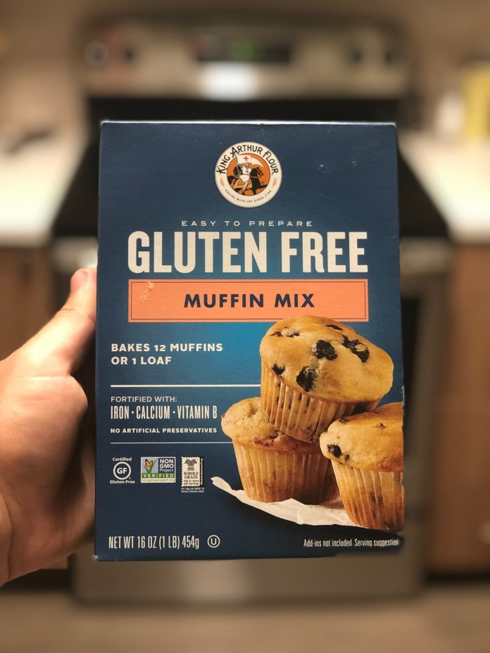 King Arthur Flour Gluten Free Muffin Mix Review One Hungry Celiac