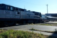 And the Amtrak thundered past on its way to Seattle