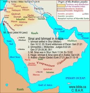 maps-bible-archeology-exodus-arabia-midianites-ishmaelites