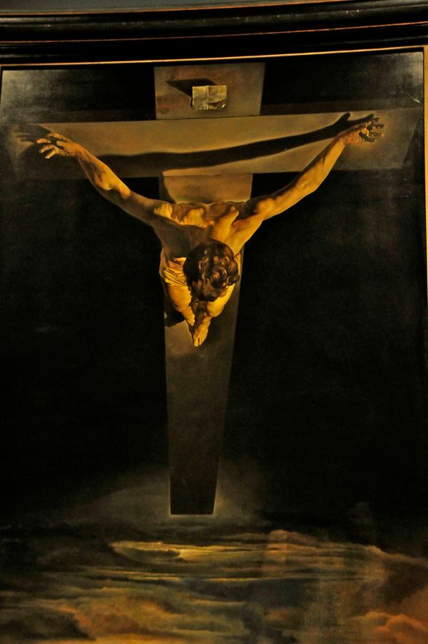 Salvador Dali Cross Painting