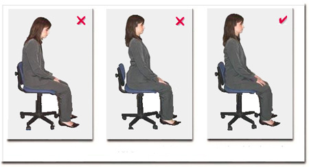 lower back exercises diagram electronic thermostat wiring five signs that you don't sit in a correct position on your office chair - onejive.com