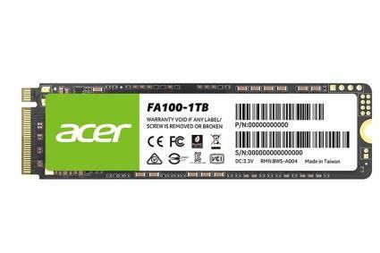 BIWIN presenta el SSD FA 100 M.2 de Acer en Perú
