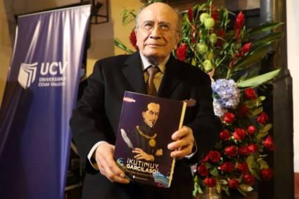 "Trujillo: Eduardo González Viaña presentó su último libro, ""¡Kutimuy, Garcilaso!"""