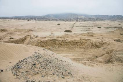 Ministerio de Cultura verificó afectación en zona arqueológica Muralla La Cumbre