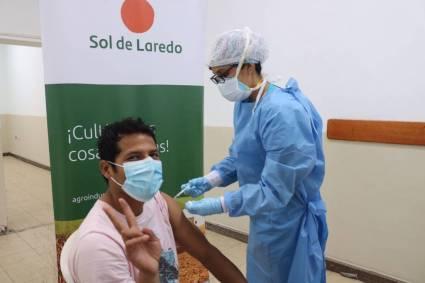 Agroindustrial Laredo se suma a los esfuerzos para impulsar vacunación