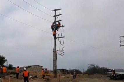 Hidrandina culmina soterrado de cableado eléctrico para ampliación de aeropuerto de Trujillo