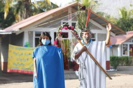 Junín: Presidente Pedro Castillo y ministro Geiner Alvarado entregan viviendas Sumaq Wasi a familias de Mazamari