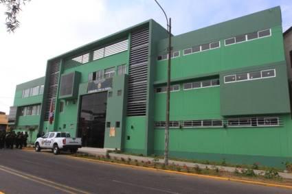 Alcalde José Ruiz inauguró moderna comisaría La Noria