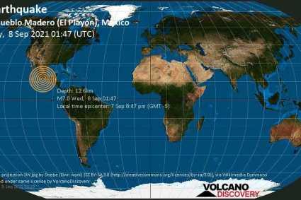 Urgente: un terremoto de magnitud 7.4 sacude el suroeste de México