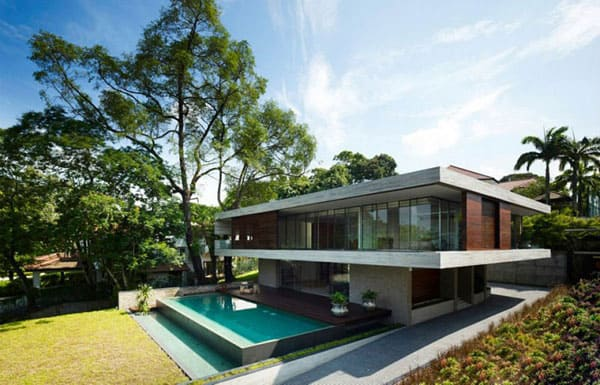 featured posts image for Singapore home has amazing connection to nature