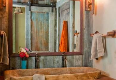 51 Insanely Beautiful Rustic Barn Bathrooms Barn