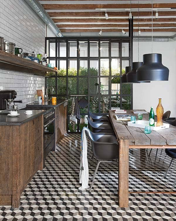 Awesome Industrial Home Kitchen Design Photos   Interior Design .