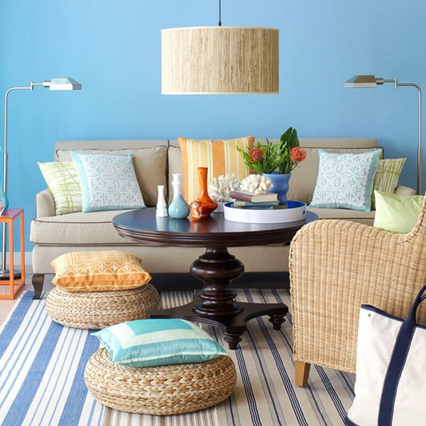 Colorful Living Room Style: 50 Energetic And Colorful Living Room Design Ideas
