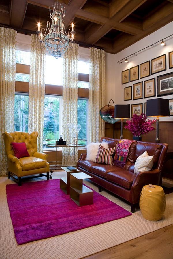 Warm Color Schemes Living Room 03 1 Kindesign