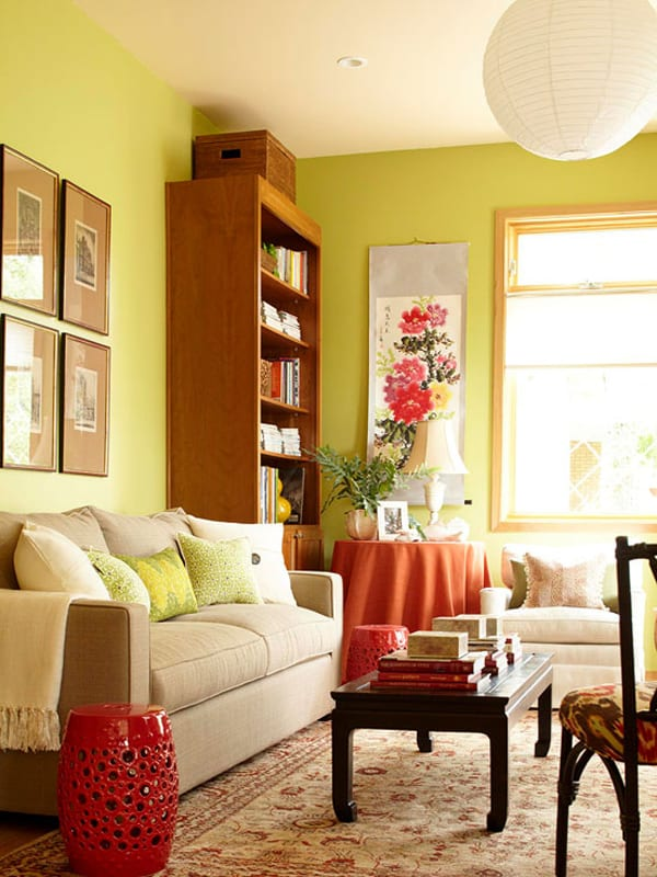 Not everyone has the time or money for a full makeover of their living room. 43 Cozy and warm color schemes for your living room