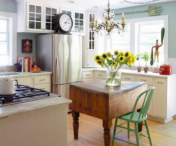 28 Small Kitchen Design Ideas: 48 Amazing Space-saving Small Kitchen Island Designs
