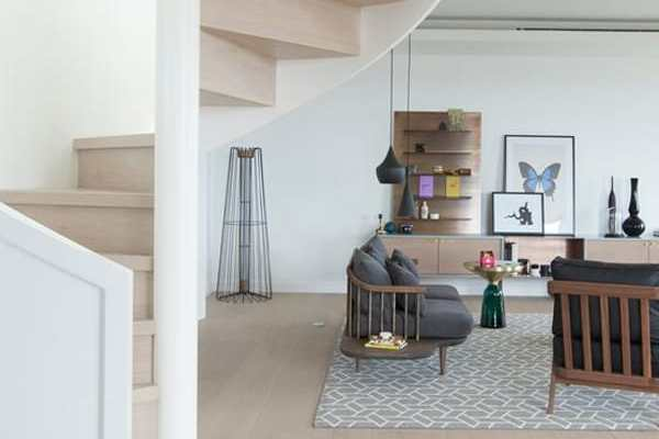 featured posts image for Chic and stylish interior redesign of a London penthouse