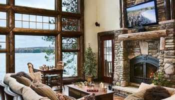 55 Awe-inspiring rustic living room design ideas