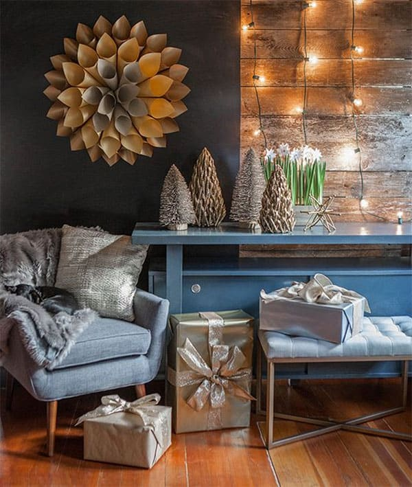 Interior Design Inspiration Photos By Laura Hay Decor Design: 53 Wonderfully Modern Christmas Decorated Living Rooms