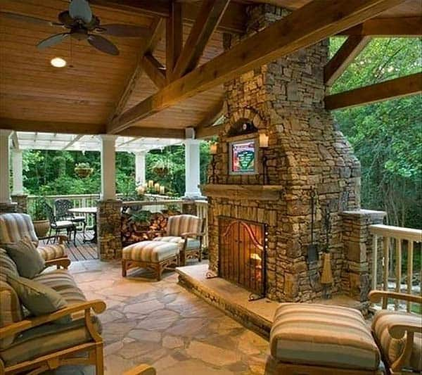 89 Incredible Outdoor Kitchen Design Ideas That Most: 53 Most Amazing Outdoor Fireplace Designs Ever