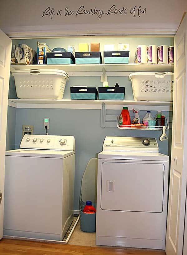 Space Saving Ideas For Small Laundry Room Novocom Top
