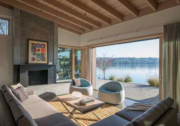 Modern Lake House Interior Design