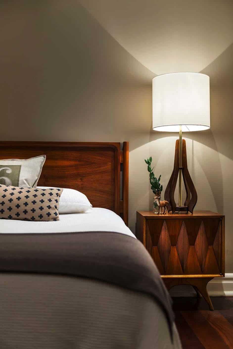 modern bedroom images 35 wonderfully stylish mid century modern bedrooms 12487 | Mid Century Modern Bedroom 15 1 Kindesign