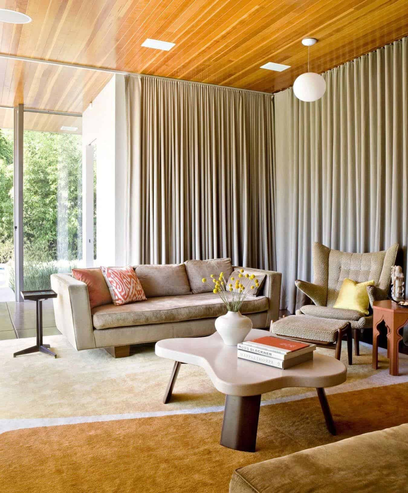 Mid Century Modern Residence: Playfully Designed Mid-century Ranch House In Brentwood