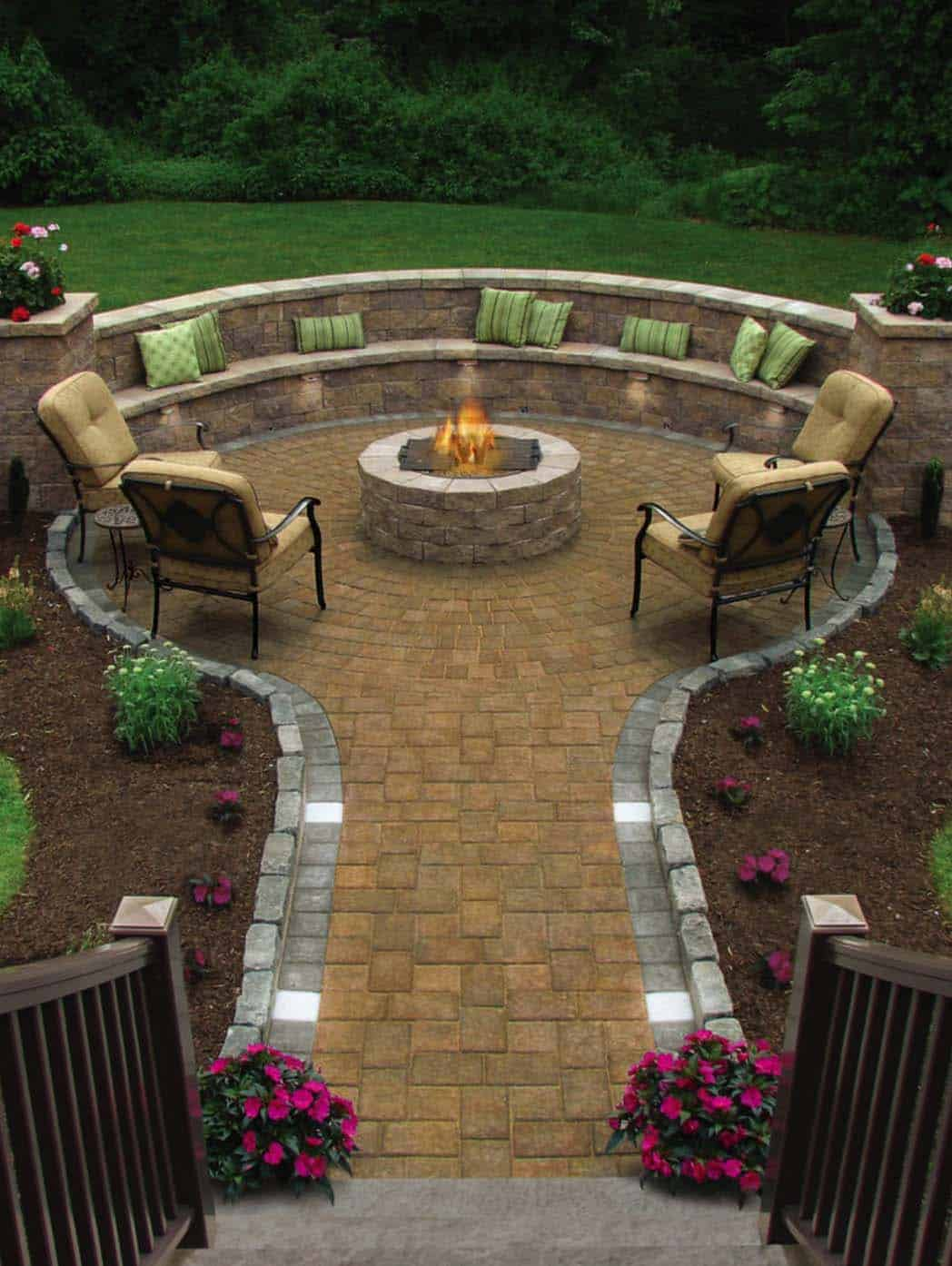 Exceptionnel 44 Traditional Outdoor Patio Designs To Capture Your Imagination