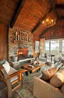 Rustic Lake House Interior Design