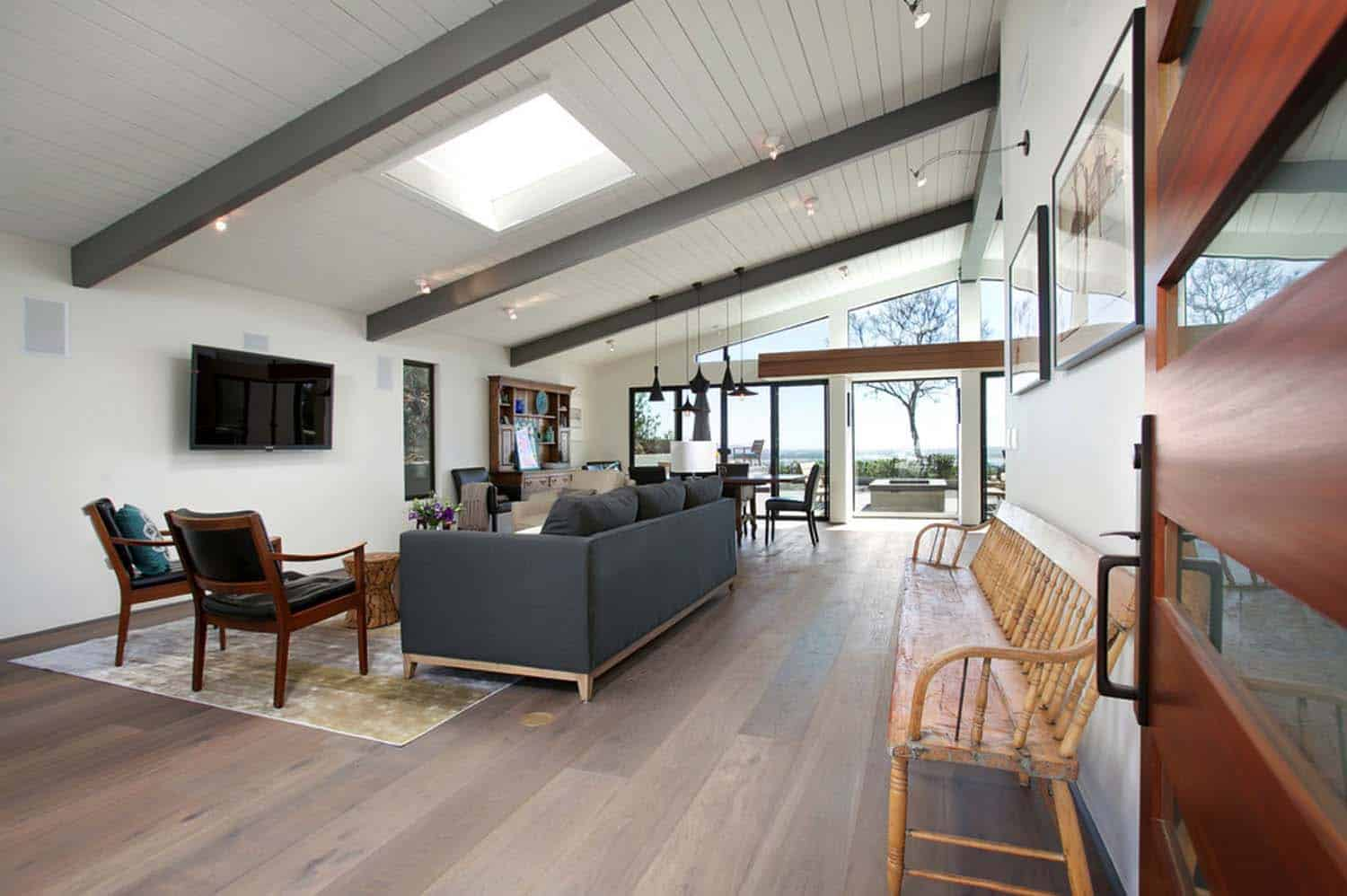 Impressive mid century modern remodel in san diego opens for Contemporary home improvements