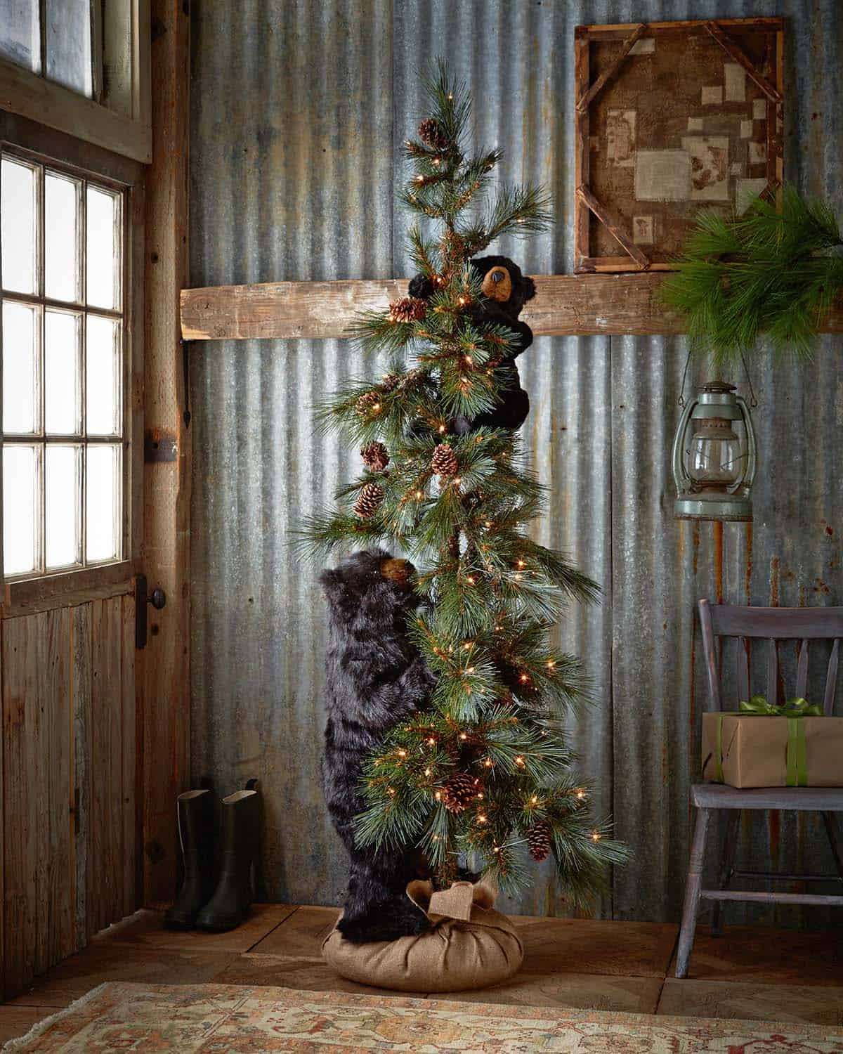 Country Rustic Home Decor: 40+ Fabulous Rustic-Country Christmas Decorating Ideas