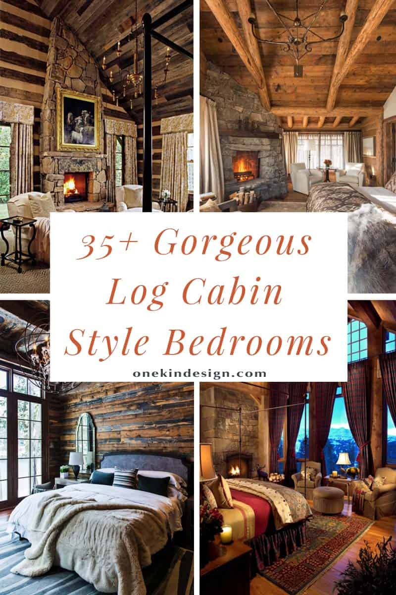Log Cabin Style Bedrooms 00 1 Kindesign