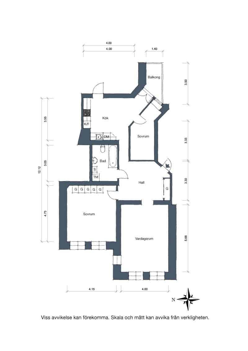Scandinavian Apartment Home-31-1 Kindesign