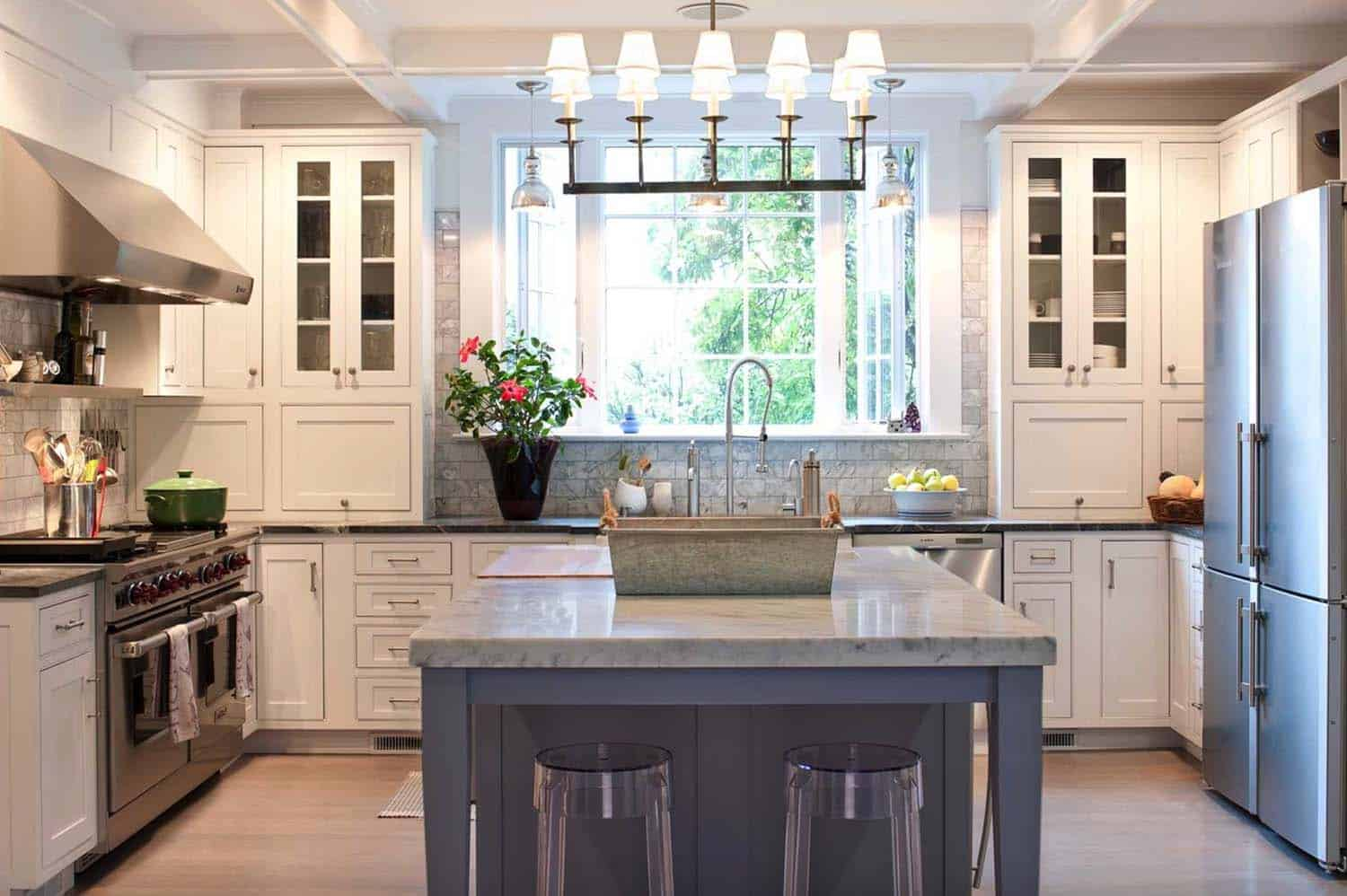 carrara marble kitchen island 25 breathtaking carrara marble kitchens for your inspiration 7321