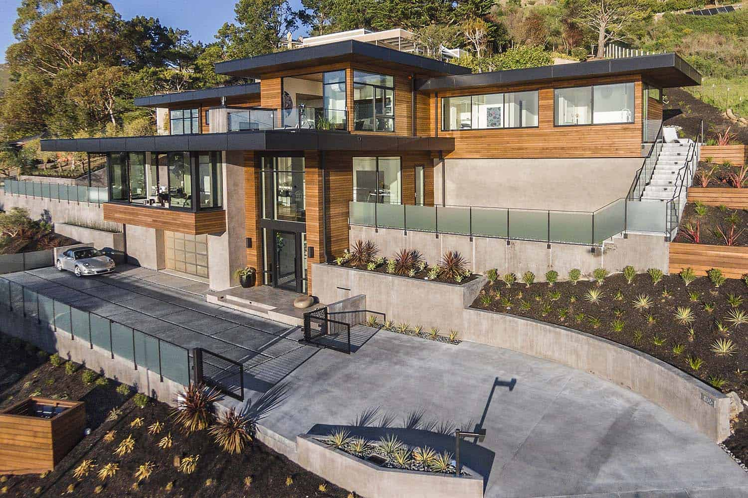 Marin County Hillside Home Ryan Group Architects 11 1 Kindesign