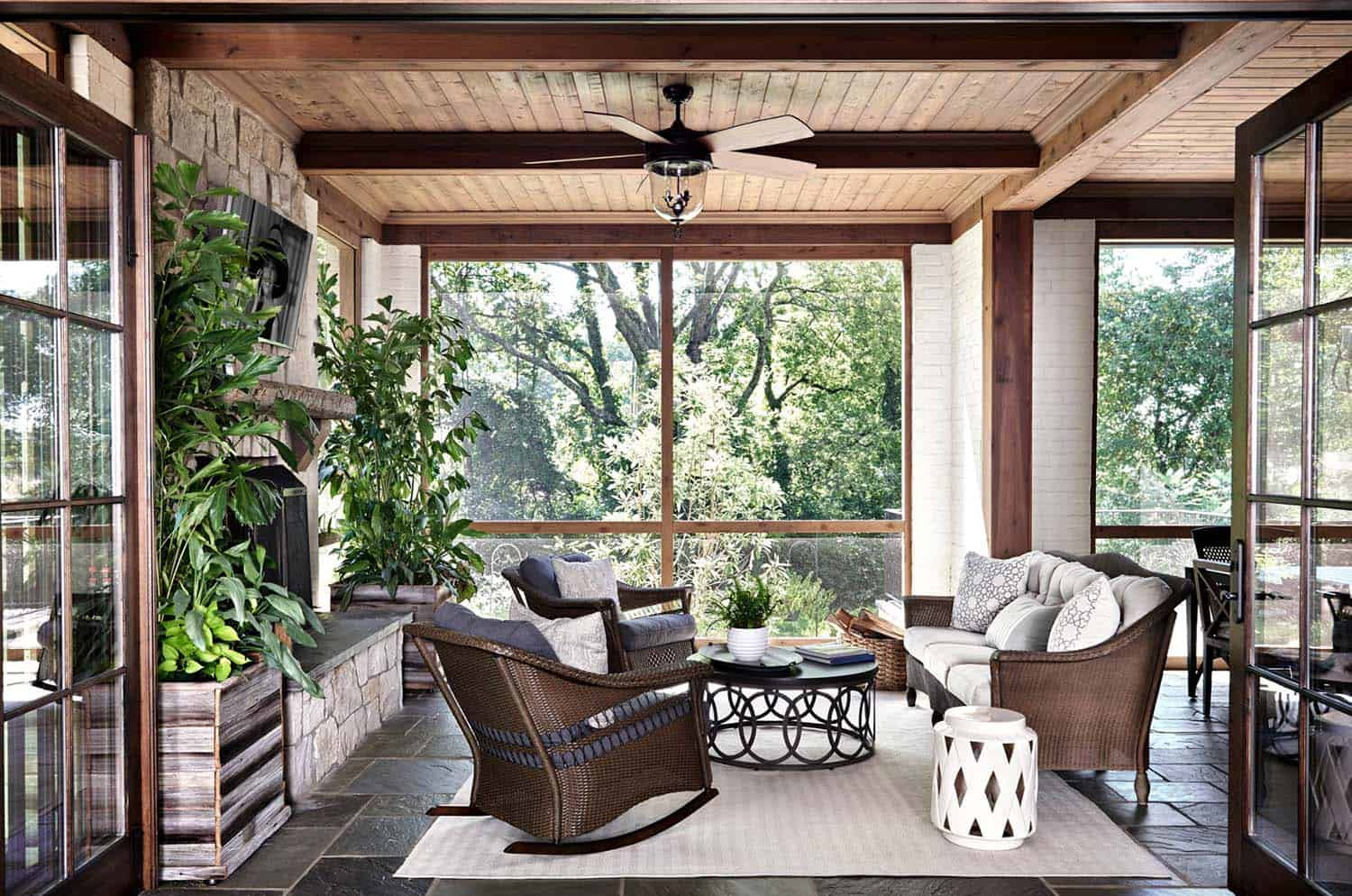 Beautiful Pictures Of Screened Porch Design Ideas Gallery ...