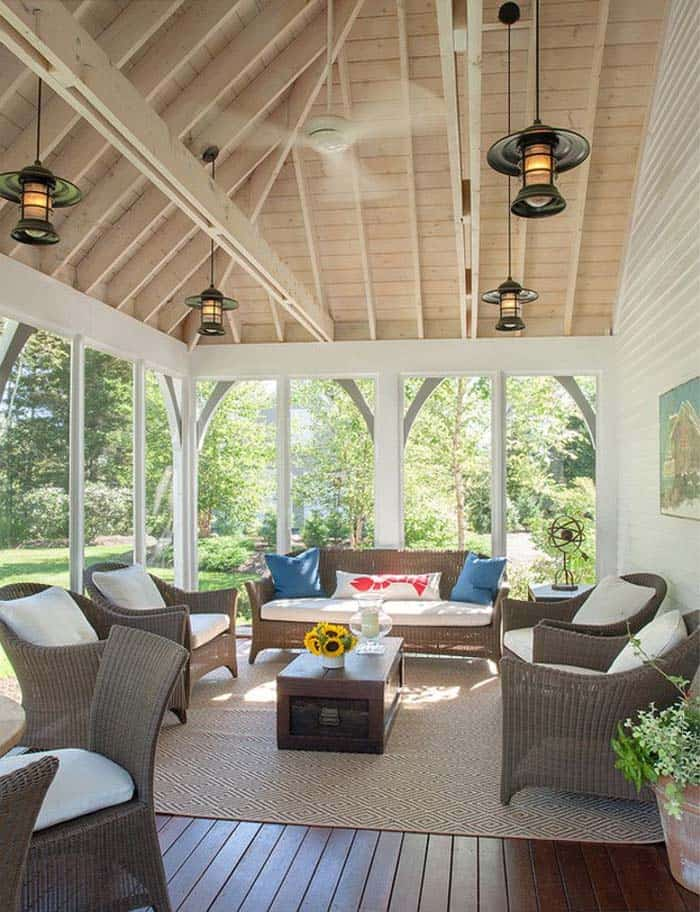 screened porch design ideas 33 1 kindesign - Porch Designs Ideas
