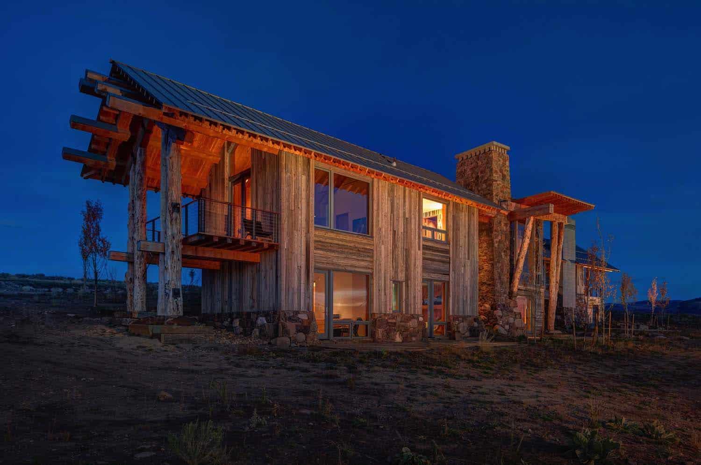 Modern Rustic Log Home-Shubin Donaldson Architects-29-1 Kindesign