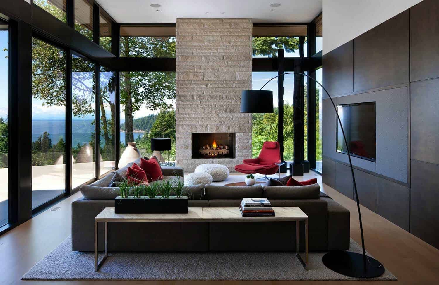 Modern Home In West Vancouver Offers Wonderful Indoor Outdoor Lifestyle