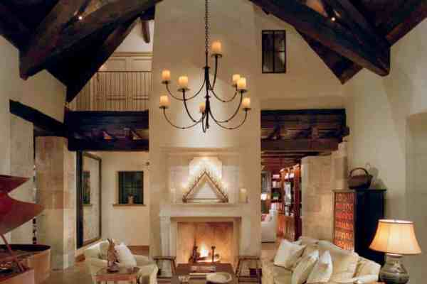featured posts image for Northern California mountain retreat evokes a European country home