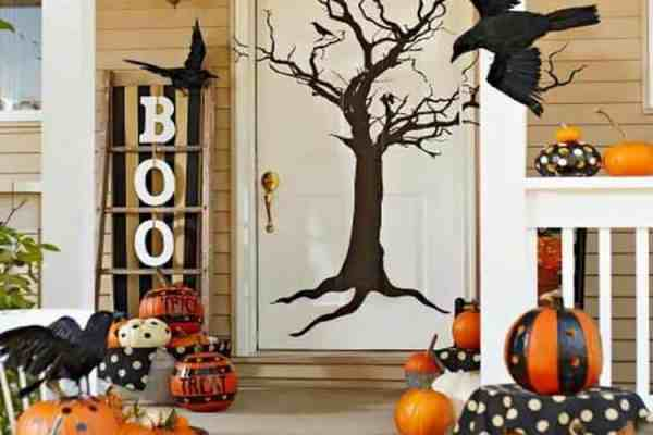 featured posts image for 30+ Fabulously Spooky Outdoor Halloween Decorating Ideas