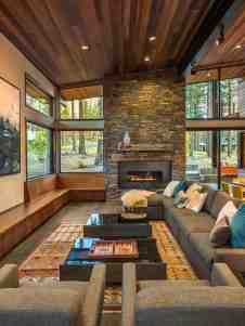 Fabulous prefabricated mountain modern home on Lake Tahoe